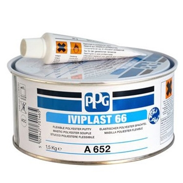 PPG IVIPLAST 66 - FLEXIBLE POLYESTER PUTTY